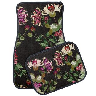 Alfombrillas de auto florales de las flores de la alfombrilla de auto