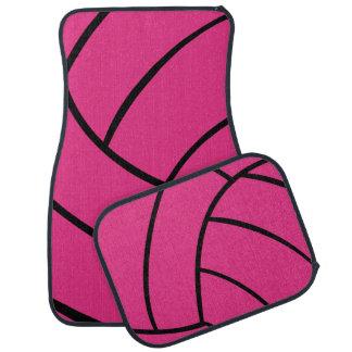 Alfombrillas de auto rosadas de moda del voleibol alfombrilla de coche