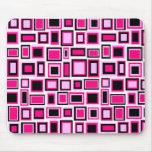Alfombrillas de ratón motivo cuadradas abstracto