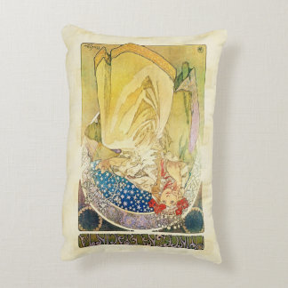 Alfons Mucha 1911 Princezna Hyacinta Accent Pillow