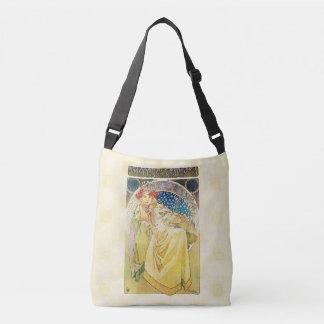 Alfons Mucha 1911 Princezna Hyacinta Crossbody Bag