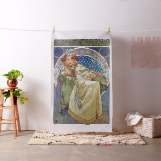 Alfons Mucha 1911 Princezna Hyacinta Fabric