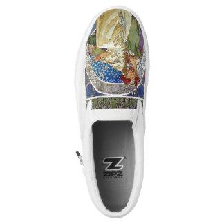 Alfons Mucha 1911 Princezna Hyacinta Slip-On Sneakers