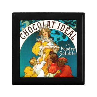 Alfons Mucha Chocolat Idéal Children illustration Gift Box
