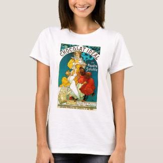 Alfons Mucha Chocolat Idéal Children illustration T-Shirt