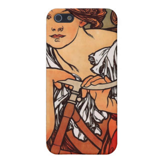 Alfons Mucha Cycles Perfecta Cover For iPhone SE/5/5s
