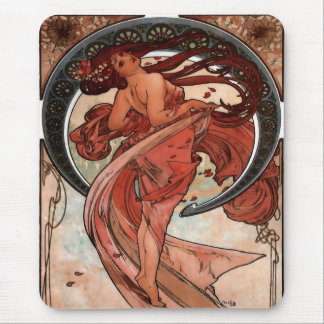 Alfons Mucha Dance Mouse Pad