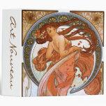 Alfons Mucha: Dance Vinyl Binders