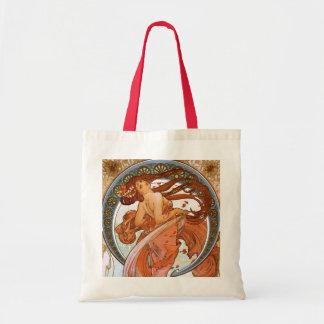 Alfons Mucha: Danza Bolsa Tela Barata