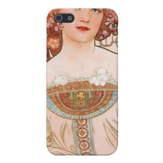 Alfons Mucha  F. Champenois Imprimeur iPhone 5 Covers