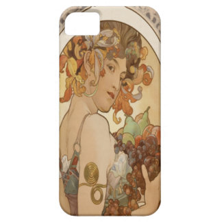 Alfons Mucha Flowers 1897 iPHone 5 Case