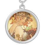 Alfons Mucha: Fruit Custom Jewelry