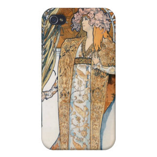 Alfons Mucha Gismonda Case For iPhone 4