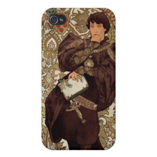 Alfons Mucha  Lorenzaccio iPhone 4/4S Case