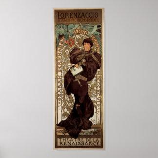 Alfons Mucha Lorenzaccio Posters