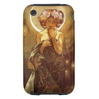 Alfons Mucha: Luna Tough iPhone 3 Cases