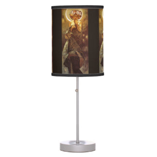 Alfons Mucha: Luna Desk Lamp