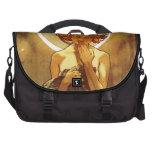 Alfons Mucha: Luna Laptop Bag