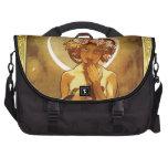 Alfons Mucha: Luna Laptop Commuter Bag