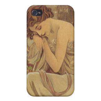 Alfons Mucha  Maiden Sleeping iPhone 4 Case