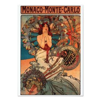 Alfons Mucha Monaco Monte Carlo Card
