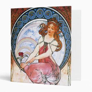 Alfons Mucha Musa de la pintura