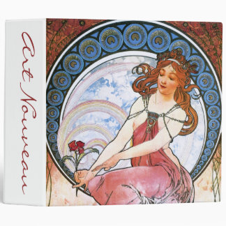 Alfons Mucha: Muse of Painting Binder