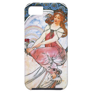 Alfons Mucha: Muse of Painting iPhone SE/5/5s Case