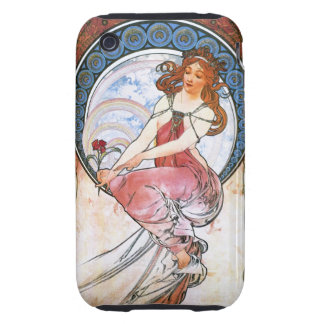 Alfons Mucha: Muse of Painting Tough iPhone 3 Covers
