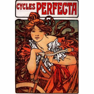 Alfons Mucha Perfecta Cutout
