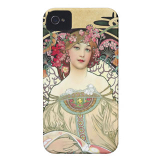 Alfons Mucha Reverie 1897 iPhone 4 Cover