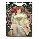 Alfons Mucha Reverie 1897 Postcard