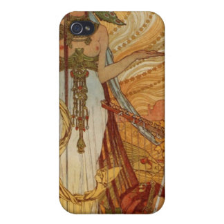 Alfons Mucha  Salammbô iPhone 4 Case