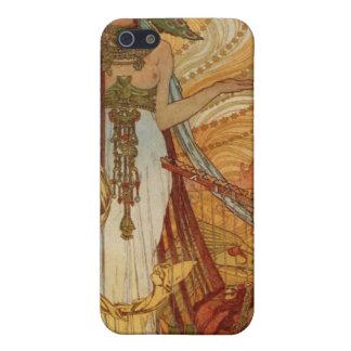 Alfons Mucha  Salammbô iPhone SE/5/5s Cover