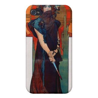 Alfons Mucha Sarah Bernhardt iPhone 4/4S Cover