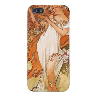 """Alfons Mucha  """"Spring"""" Cover For iPhone SE/5/5s"""