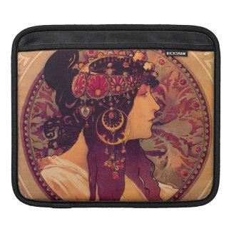 Alfonse Mucha Art Deco Sleeve For iPads