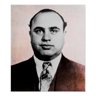 ALFONSO CAPONE POSTER