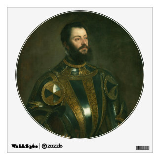 Alfonso d Avalos Marquis of Vasto by Titian 1533 Room Decals