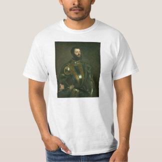 Alfonso d'Avalos Marquis of Vasto by Titian 1533 T-Shirt