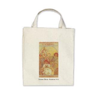 Alfonso Mucha - bolso de la exposición 1913 Bolsa
