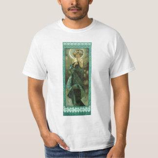 Alfonso Mucha Clair De Lune T-shirt Camisas