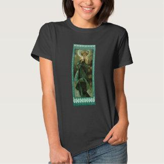 Alfonso Mucha Clair De Lune T-shirt Polera