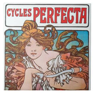 Alfonso Mucha completa un ciclo la caja de regalo Azulejo Cuadrado Grande