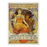 Alfonso Mucha. Expo 1903 de St. Louis Posters