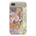 Alfonso Mucha iPhone 4 Protector