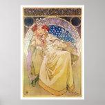 Alfonso Mucha. Princezna Hyacinta, 1911 Poster