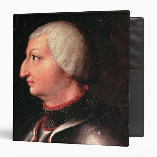 """Alfonso V el """"magnánimo"""", rey de Aragón Carpeta 1 1/2"""""""