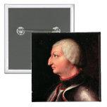 """Alfonso V el """"magnánimo"""", rey de Aragón Pin Cuadrado"""