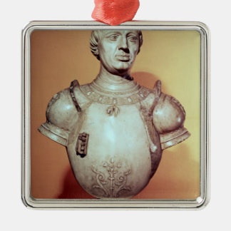 Alfonso V 'Magnanimous' of Aragon , portrait Metal Ornament
